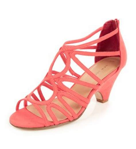 coral colored shoes coral heels not high