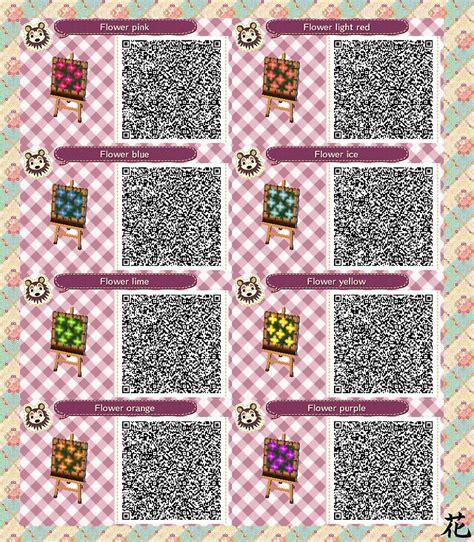 Acnl Flower Wallpaper Qr | acnl qr code flower beds acnl pinterest