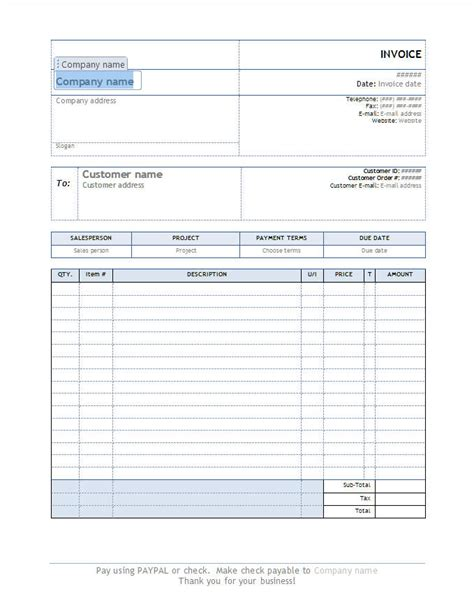 pages invoice template pages invoice templates free pages invoice