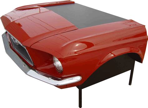 Route 66 Store 1967 Mustang Car Desk Furniture Made Car Desk