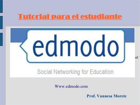 tutorial para registrarse en edmodo edmodo tutorial para el estudiante