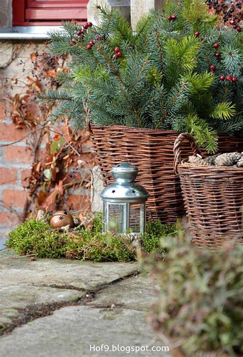 Weihnachtsdeko Ideen F R Aussen 5047 by F 252 R Drau 223 En Winterdekoration Weihnachtsdeko Avec