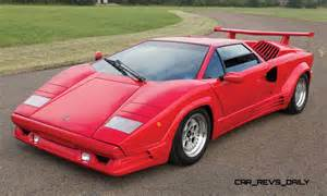 Lamborghini Countach 1990 Lamborghini Countach 25th Anniversary Edition Brings