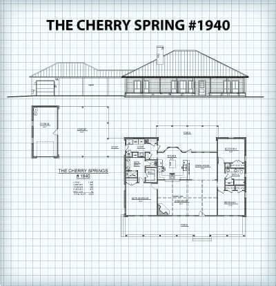 hill country floor plans the cherry plans