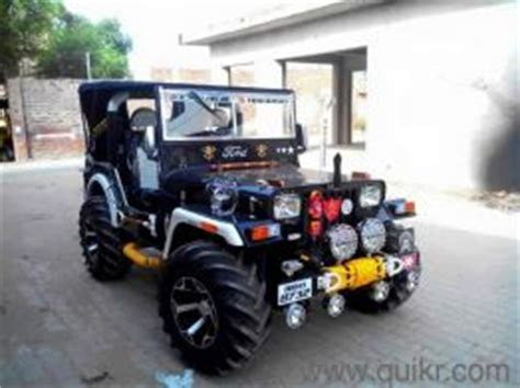 Modified Jonga Jeep Suzuki Modified Ahmedabad Buy Or Sell Used Cars In
