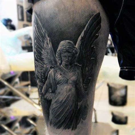 guardian tattoo full body beautiful guardian angel tattoo males upperarms full and