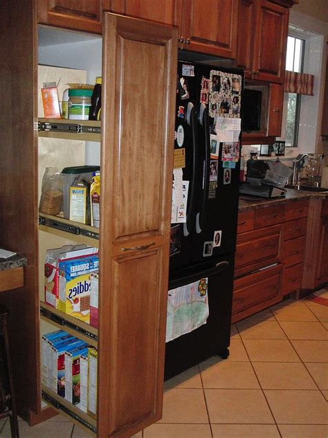 kitchen storage ideas organize drawers pullout pantries