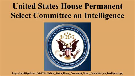 house select committee united states house permanent select committee on intelligence youtube