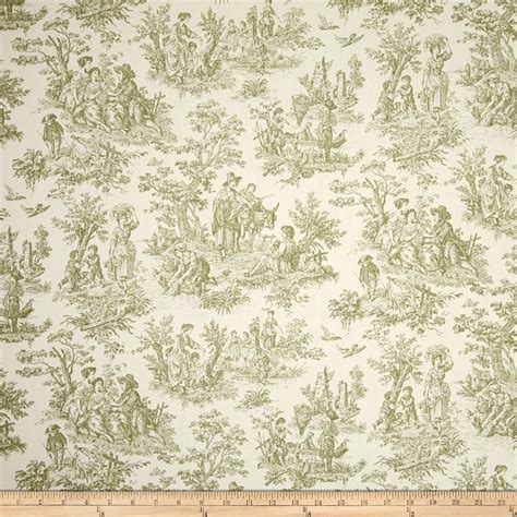discount drapery fabric waverly charmed life toile tarragon discount designer