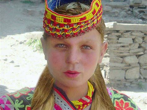 kalash women the kalash people the lost blonde hair and blue eye tribe