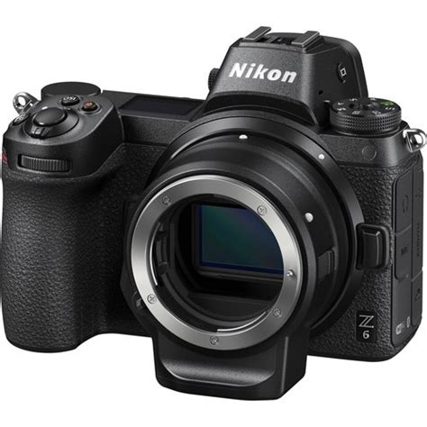 Nikon Z6 Mirrorless Digital by Nikon Z6 Mirrorless Digital With Ftz Mount Adapter Kit