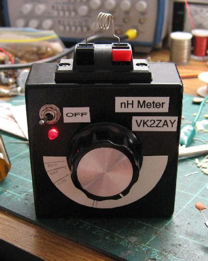 inductance meter nh alan yates laboratory nano henry inductance meter