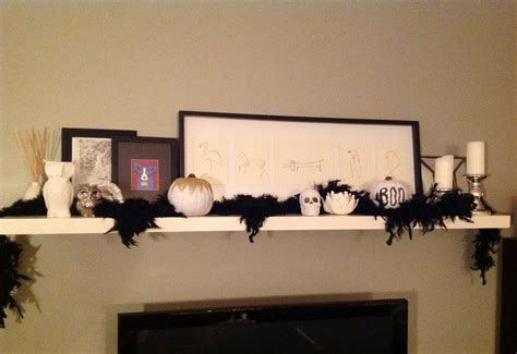 modern halloween decor 17 best images about mantle display ideas on pinterest