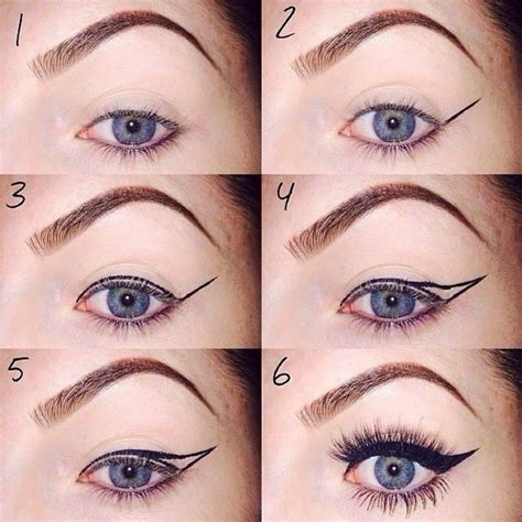 eyeliner tutorial with pictures eyeliner tutorial ladyvision net