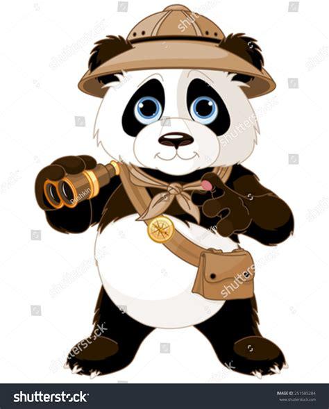 safari binoculars clipart panda safari explorer binoculars stock vector 251585284