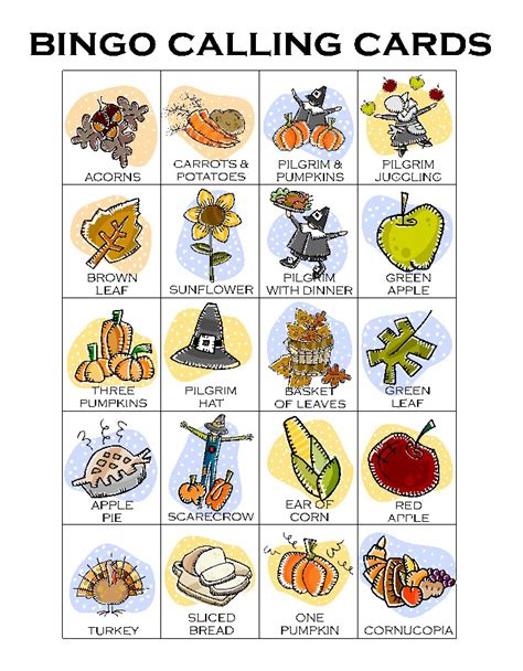 printable thanksgiving bingo cards free thanksgiving bingo calling card makingfriendsmakingfriends