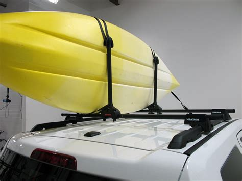 Roof Rack For 2 Kayaks by Yakima Kayak Stacker Roof Mounted 2 Kayak Carrier System