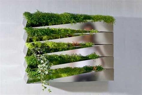 vertical garden design adding natural   house