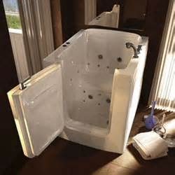 a unique handicap shower and hydrotherapy step in bathtub