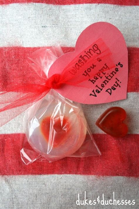 A Practical Pantied Valentines by Soap With A Printable Dukes And Duchesses