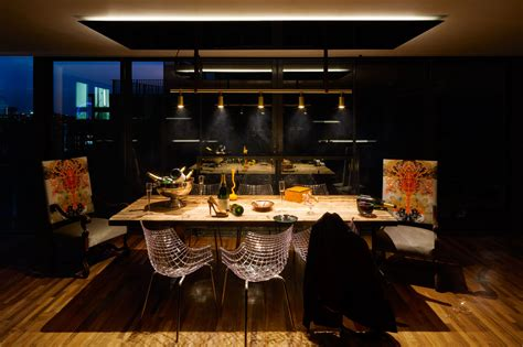 kitchen in a day a penthouse that celebrates london with a cutting edge design