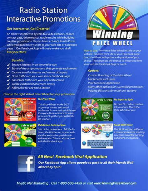 Radio Station Giveaways - radio stations tv promotions prize wheel marketing ideas