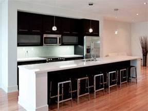 One Wall Kitchen With Island Pin By Amy Dunn On Heartmakeshome Pinterest