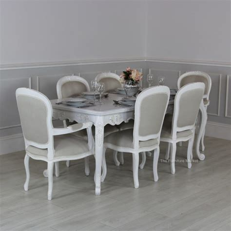 french style dining furniture dining room sets with bench white french