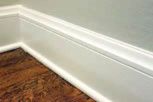 How Should Baseboards Be Danks And Honey Bathroom Redo Part Six Toilet Flushed