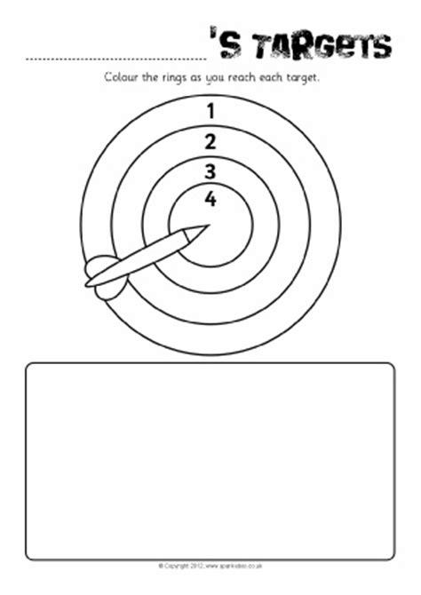 target card template ks2 individual pupil target sheets reward charts monitoring