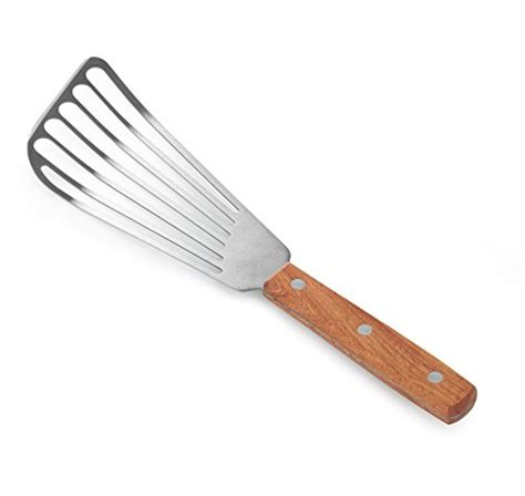 spatula spoonula wooden spoons offset spatula fish new star foodservice 43068 wood handle fish spatula 6 5