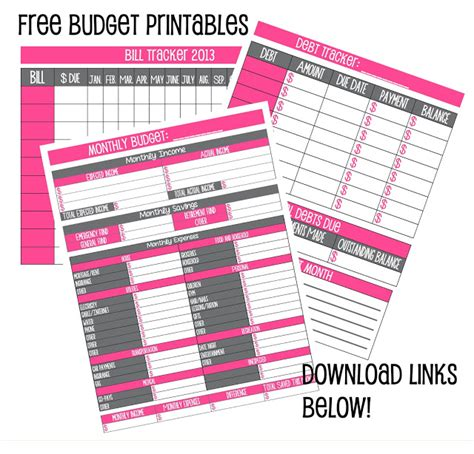 weekly budget planner free printable budget and bill paying templates cause you can t furnish