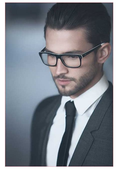 Haircuts For Guys With Glasses by Mens Haircut Style And Modern Hair With