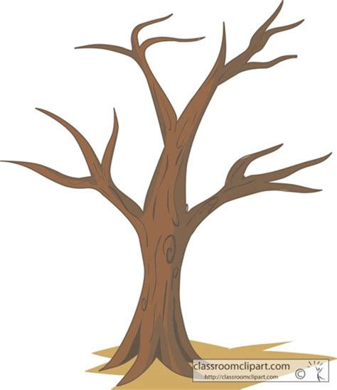 brown tree clip brown tree without leaves clipart clipartsgram