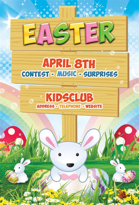 easter poster templates 8 best images of easter flyers designs easter flyers