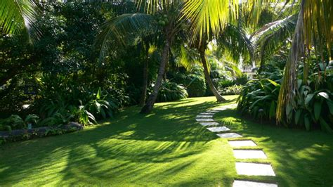 Bali House Plans Tropical Living Caribbean Garden