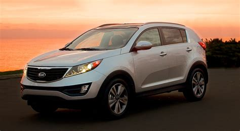 Kia Suv Car Kia Sportage Revised Styling For Updated Suv Photos 1