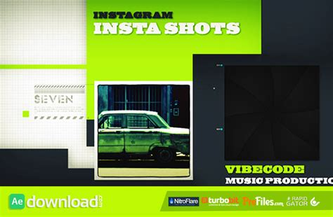 after effects project templates videohive instashots free free after effects