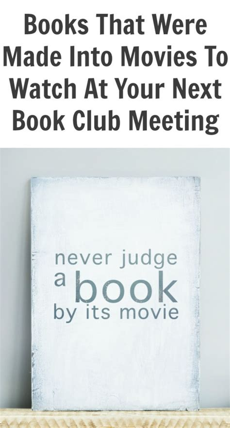 biography book club picks books that were made into movies to watch at your next