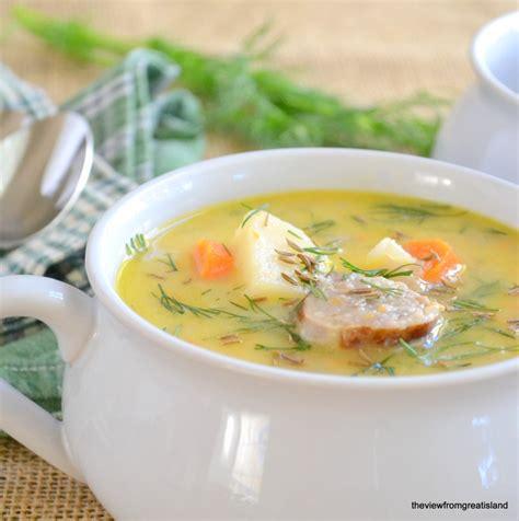 bratwurst soup bratwurst cheese soup