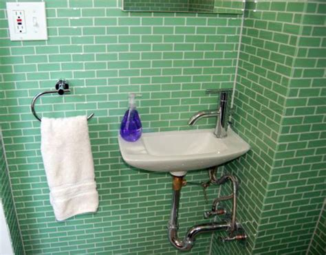 vintage subway tile bathroom this retro bathroom is outfitted with vintage fixtures and