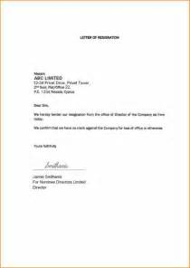 1 Week Notice Resignation Letter by 7 1 Month Notice Resignation Basic Appication Letter