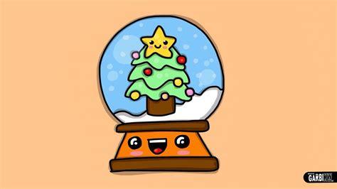 imágenes de navidad kawaii c 243 mo dibujar una bola de navidad dibujos navide 241 os