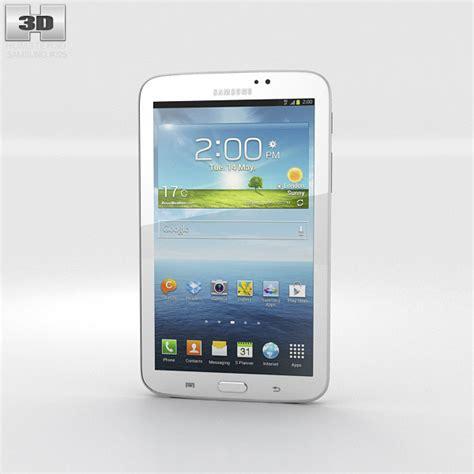 Samsung Tab 3 Ukuran 7 Inchi samsung galaxy tab 3 7 inch white 3d model hum3d