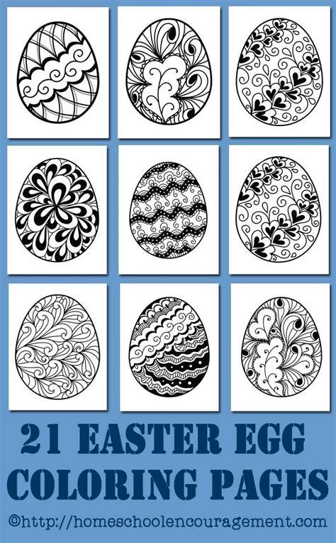 preschool easter egg mandala coloring 4 171 funnycrafts 47 best advanced coloring easter images on pinterest