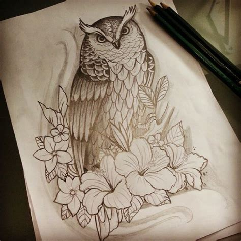tattoo owl sketch owl tattoo sketch sketchs pinterest tattoo sketches