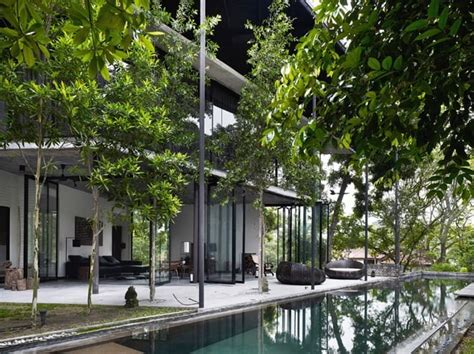 dog area in house dog concrete house by kevin low kuala lumpur malaysia