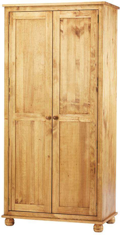 Pine Wardrobe by Dorset Solid Pine Wardrobe