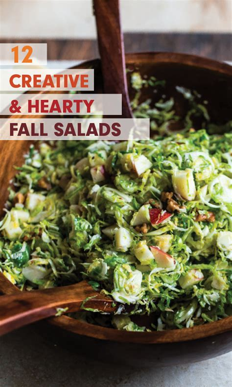 12 creative and hearty fall salads blogging over thyme