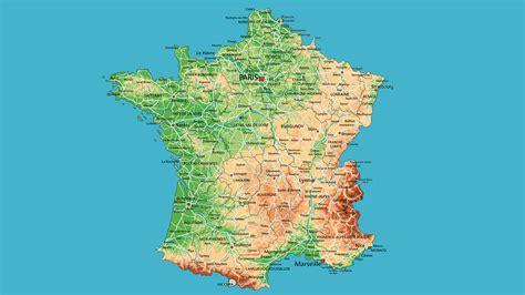 imagenes satelitales de francia mapa politico de francia